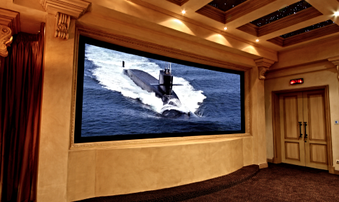 As You Know Our Acoustically Transparent Home Cinema Screens Are The  Ultimate In Luxury, And The Screen Excellence Vista Curve Projection Screen  Is ...