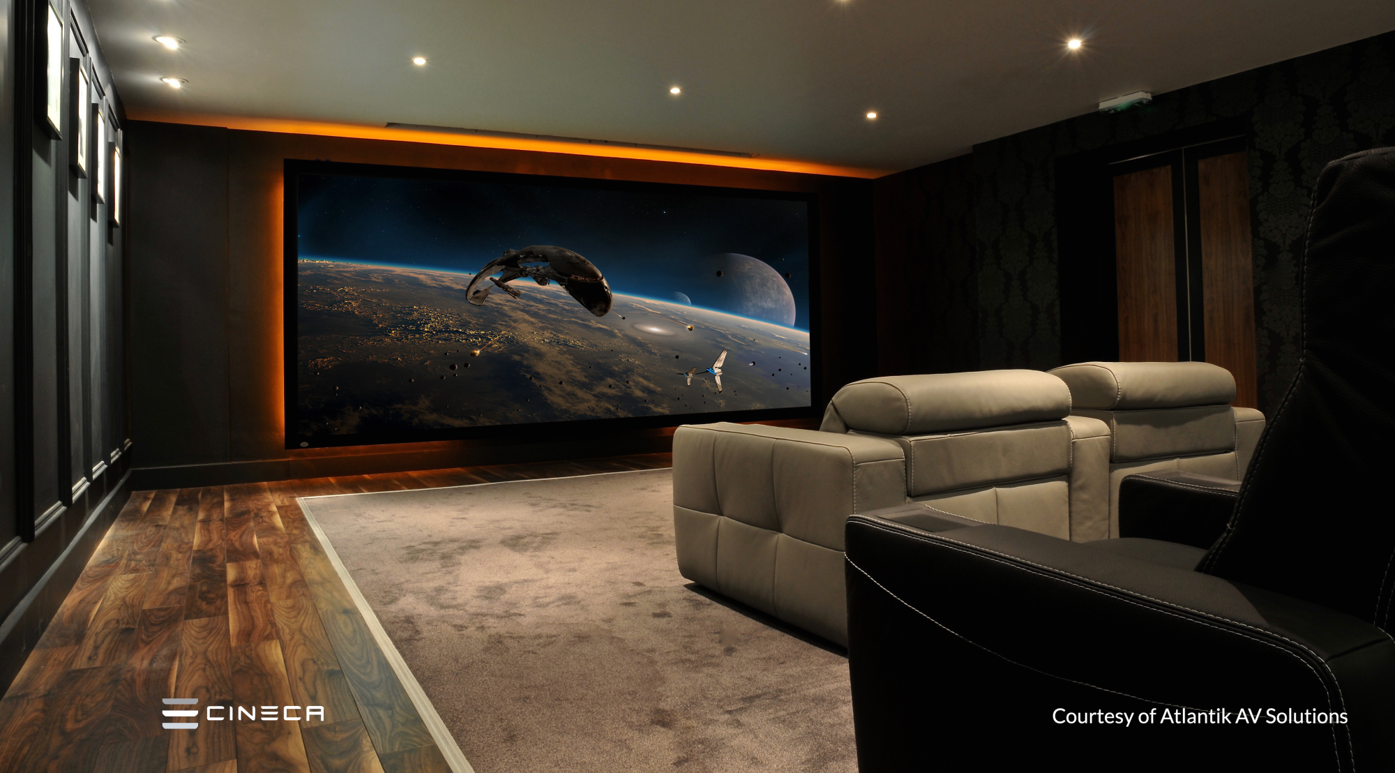 Screen Excellence :: Home Cinema Acoustic Transparent Screens
